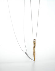 Styled - dos pinceles linea necklace