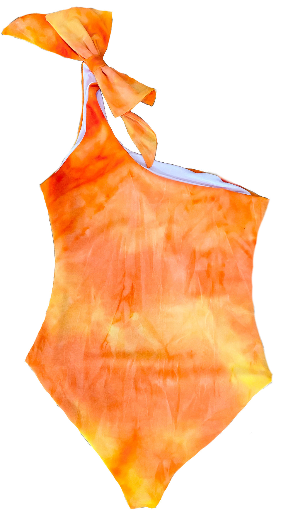 Aries - tie dye orange