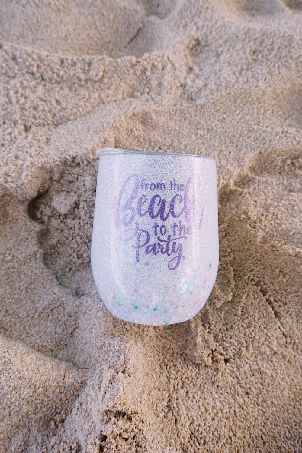 marena's details - from the beach to the party cup white