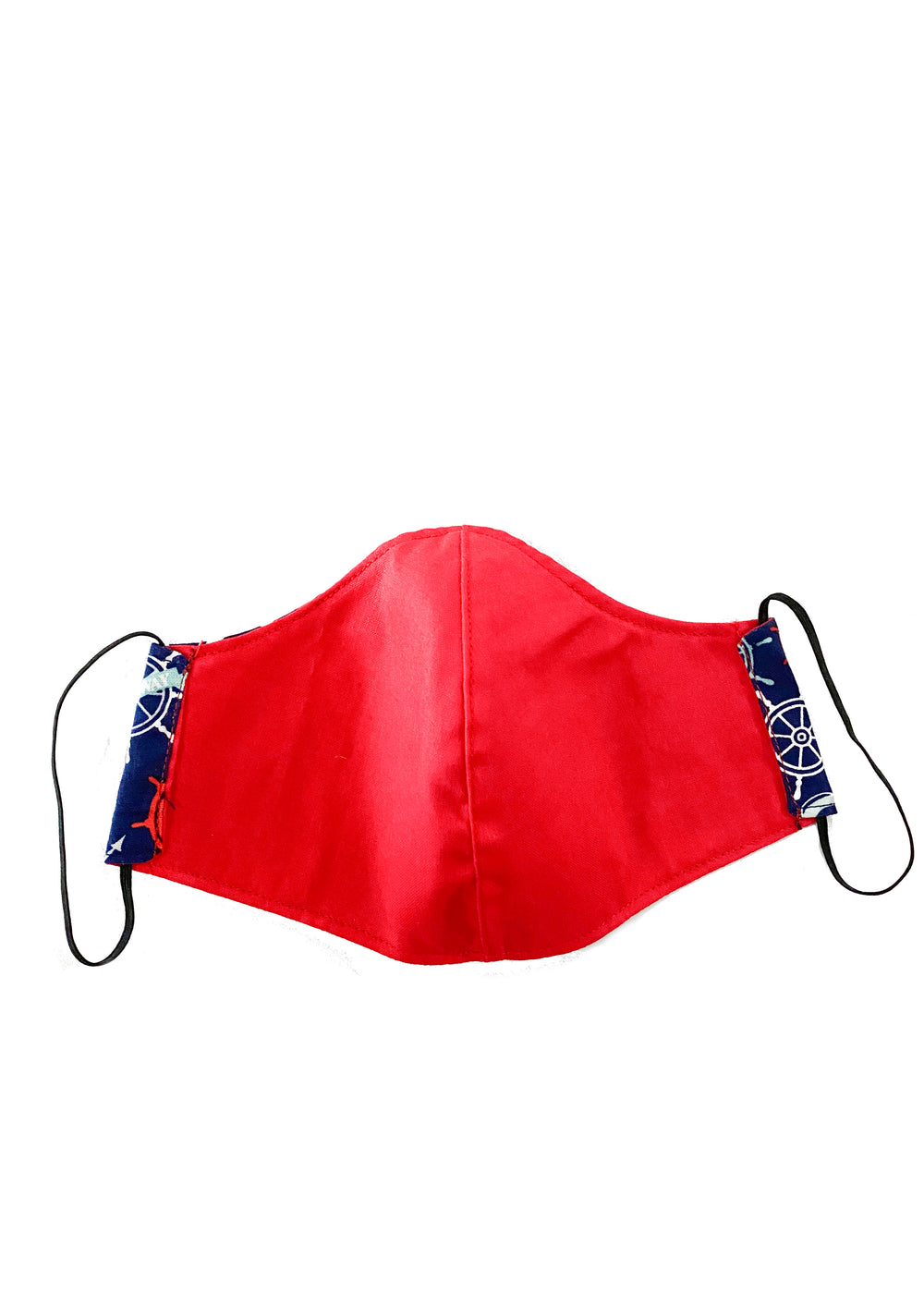 face mask - nautic/red