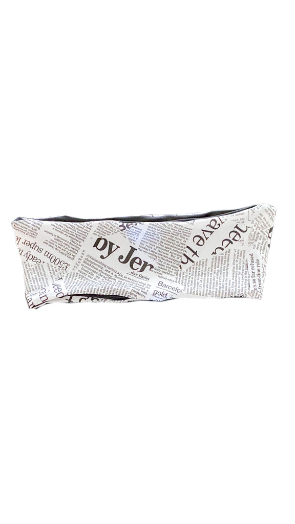 Alula tube top - newspapers