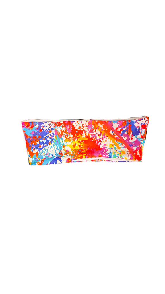 Alula bandeau top - abstract