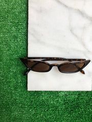 Styled - brown sunglasses
