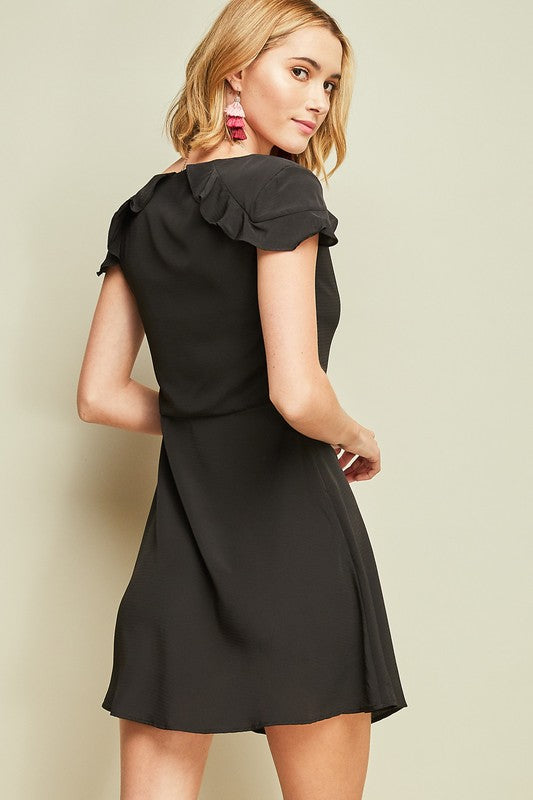 Styled - little back dress