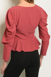 Styled - rose blouse