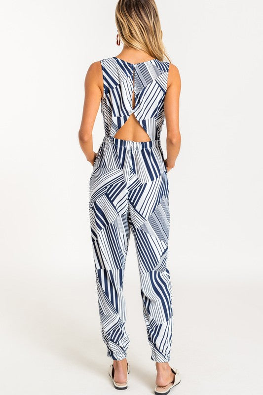 Styled - blue jumpsuit