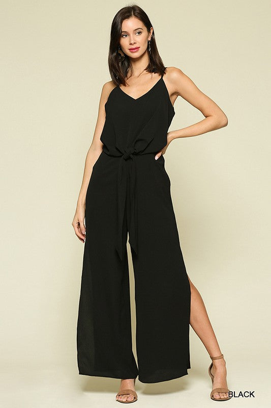 Styled - black jumpsuit