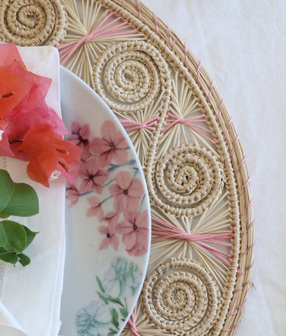 Santorini Placemat -Pink (Set of 4)