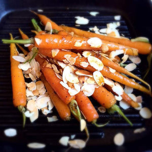 Braised Dutch Carrots with Toasted Almonds