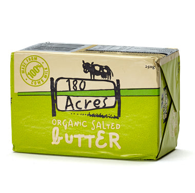 180 Acres - Organic Salted Butter 250g
