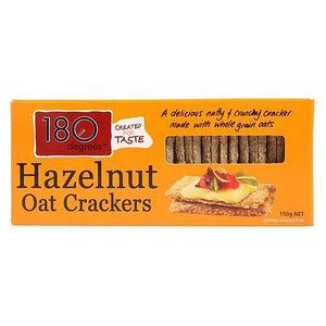 180 Degrees - Hazelnut Oat Crackers 150g