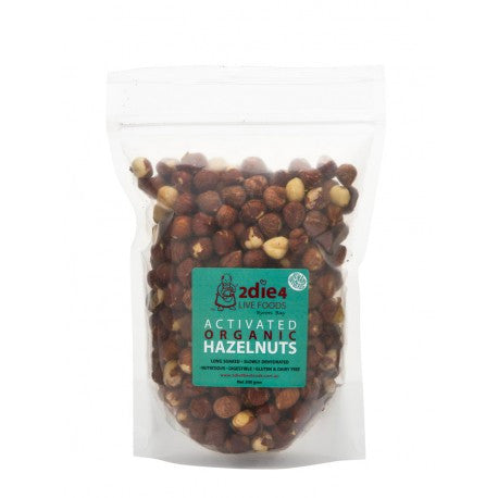 2die4 Live Foods - Activated Organic Hazelnuts 300g