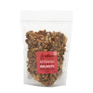 2die4 Live Foods - Activated Organic Walnuts 300g