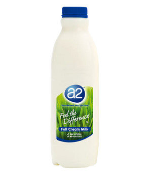 A2 - Full Cream Milk 1 litre