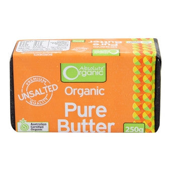 Absolute Organic - Unsalted Butter 250g