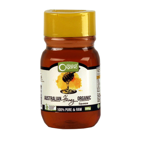 Absolute Organic - Pure Raw Honey 500g