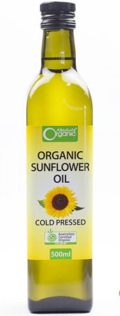 Absolute Organic - Sunflower Oil 500ml