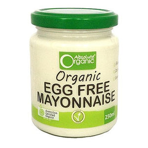 Absolute Organic - Organic Egg Free Mayonnaise 250ml
