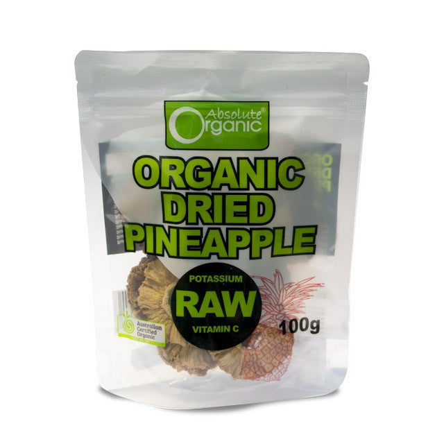 Absolute Organic - Dried Pineapple 100g