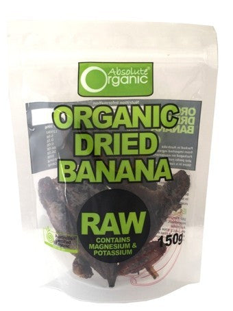 Absolute Organic - Dried Banana 150g
