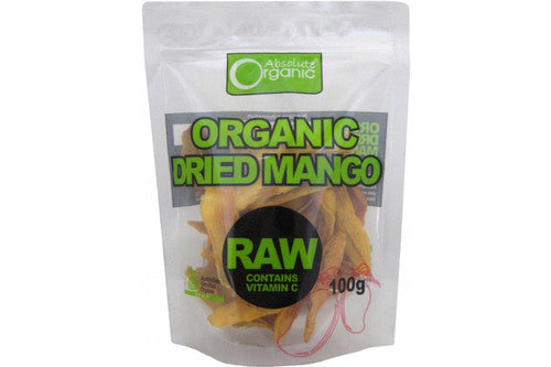 Absolute Organic - Dried Mango 100g