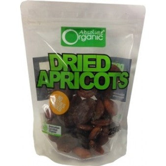 Absolute Organic - Dried Apricots 250g