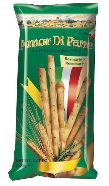 Amor Di Pane - Rosemary Breadsticks 125g