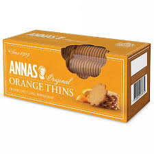 Annas - Orange Thins 150g