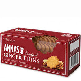 Annas - Ginger Thins 150g