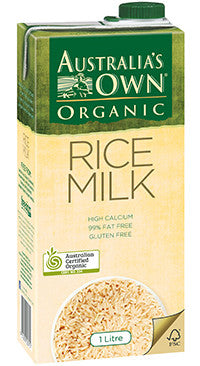 Australia's Own - Organic Rice Milk 1Lt