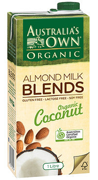 Australia's Own - Almond Milk Blends - Organic Coconut 1Lt