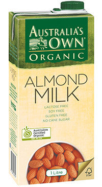 Australia's Own - Unsweetened Almond Milk 1Lt