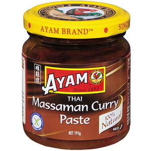 Ayam - Thai Massaman Curry Paste 195g