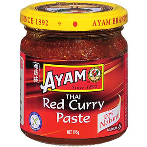 Ayam - Thai Red Curry Paste 195g