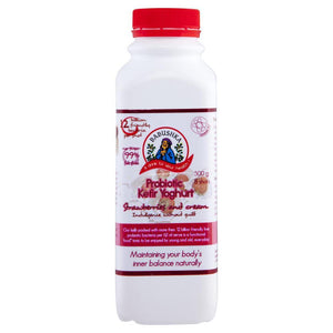 Babushka - Probiotic Kefir Yoghurt Strawberry 500g