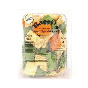 Bacci - Roast Vegetable Ravioli 500g