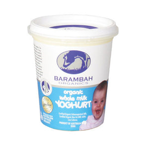 Barambah Organics - Whole Milk Infant Yoghurt 200g