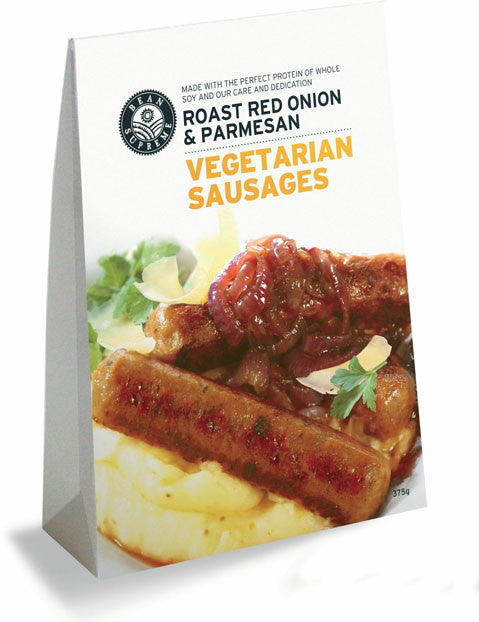 Bean Supreme - Roasted Red Onion & Parmesan Vegetarian Sausages 375g