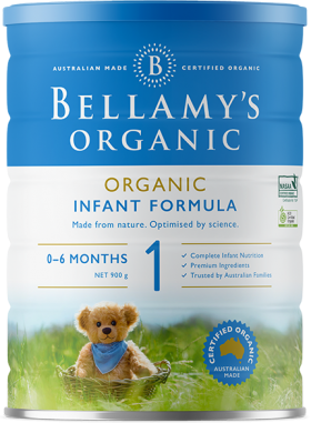 Bellamy's - Formula Infant - Stage 1 900g
