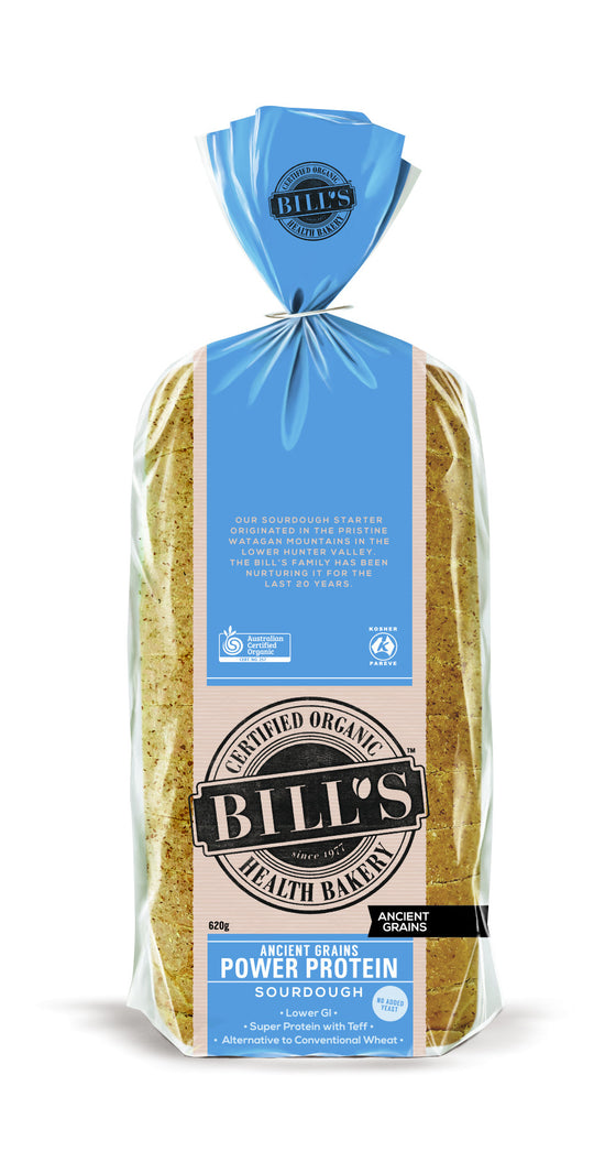 Bills Organic - Ancient Grains Power Protein Sourdough 620g
