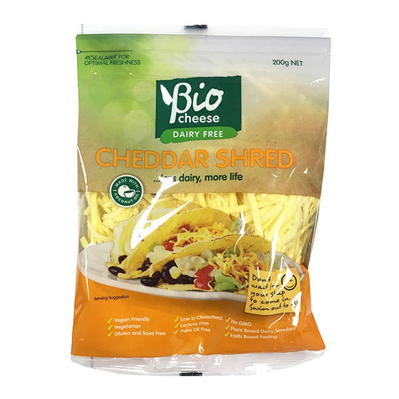 Bio Cheese - Cheddar Shred 200g