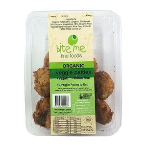 Bite Me - Organic Veggie Patties (12pk)