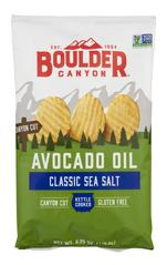 Boulder Canyon - Avocado Oil Classic Sea Salt Canyon Cut 142g
