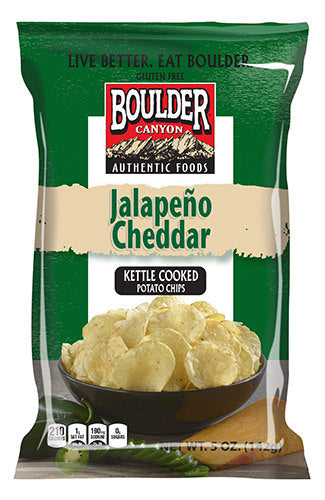 Boulder Canyon - Jalapeno Cheddar Classic Cut 142g
