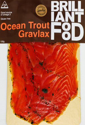 Brilliant Food - Ocean Trout Gravlax 100g