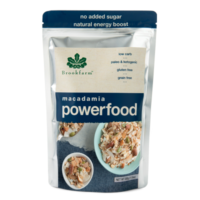 Brookfarm - Paleo Powerfood Macadamia & Coconut 330g