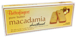 Butterfingers - Pure Butter Macadamia Shortbread 175g