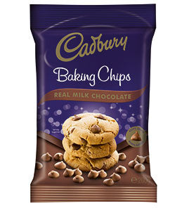 Cadbury - Milk Chocolate Baking Chips 200g