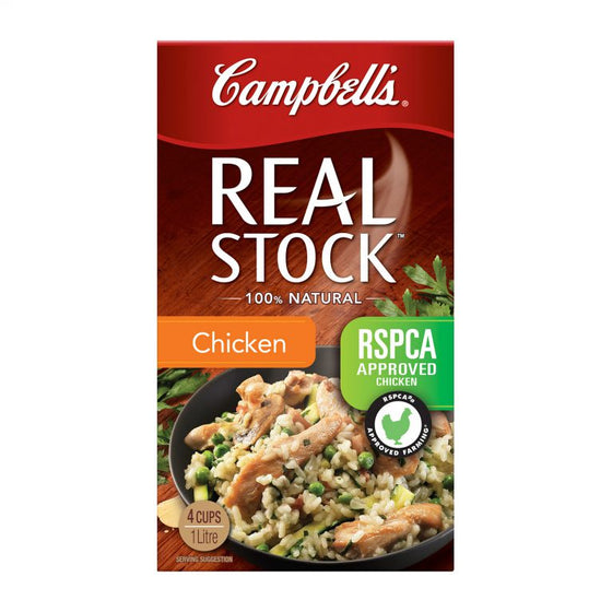 Campbells - Real Chicken Stock 1Lt