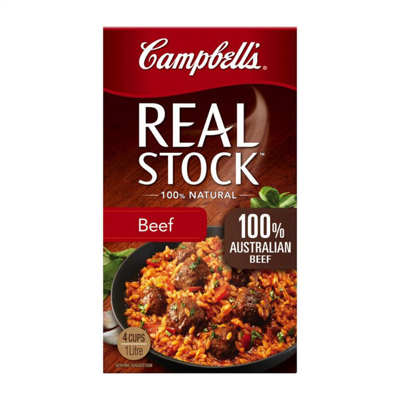 Campbells - Real Beef Stock 1Lt